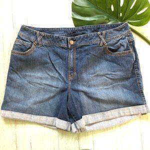 Lane Bryant Jeans Shorts Size 22